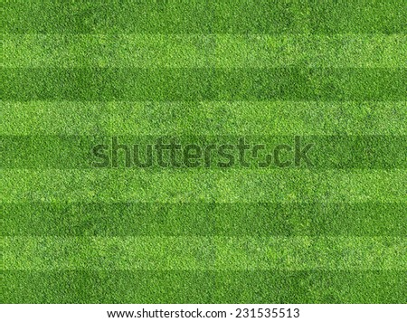 grass of sport field - stock photo