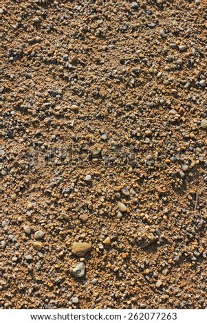 gravel - stock photo