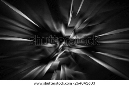 Gray Abstract - stock photo