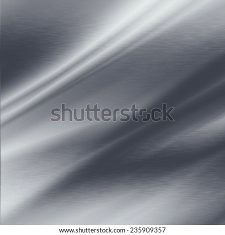 gray abstract background folded metal texture oblique lines - stock photo