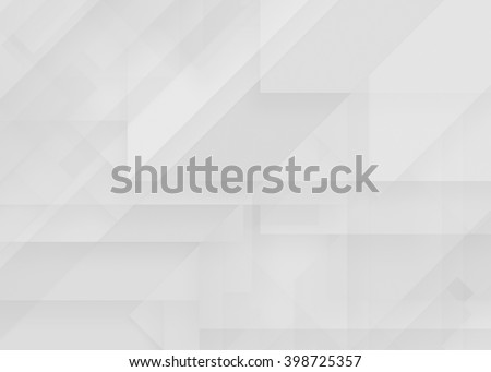 Gray blank abstract paper, light background, craft material, design element - stock photo
