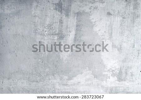 gray cement - stock photo