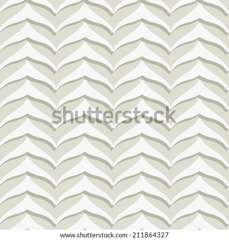 Gray Embossed Seamless Pattern - stock photo