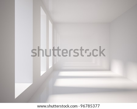 gray Interior - stock photo