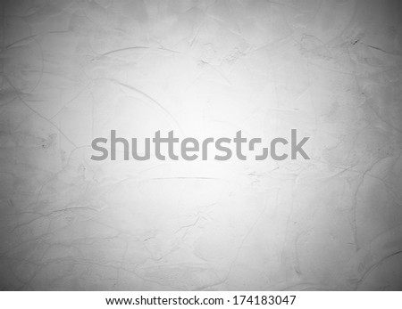 gray lit stucco background - stock photo