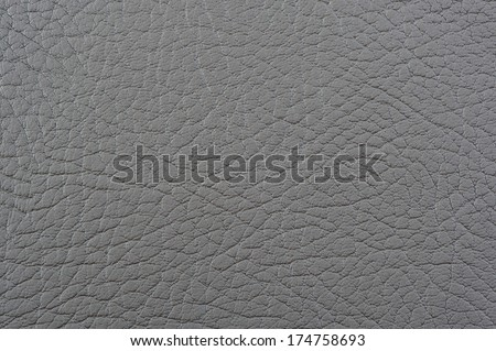 Gray Patterned Artificial Leather Background Texture - stock photo