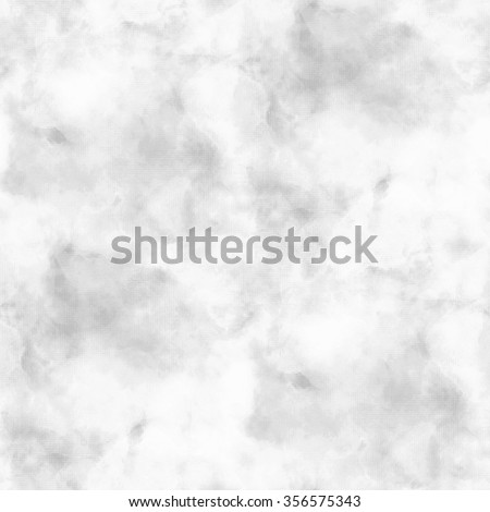 gray watercolor background - seamless white stains pattern - stock photo