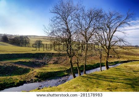 Grayrigg village in Cumbria - stock photo