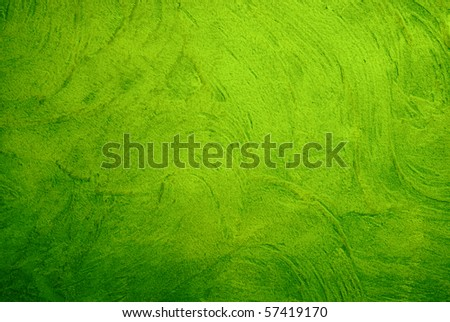 Great background made with a texture of a green wall - stock photo