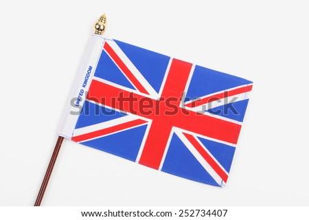 Great Britain Flag - stock photo