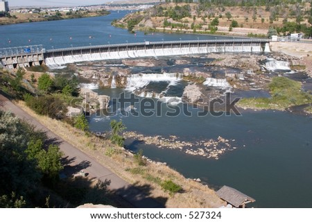 Great Falls - stock photo