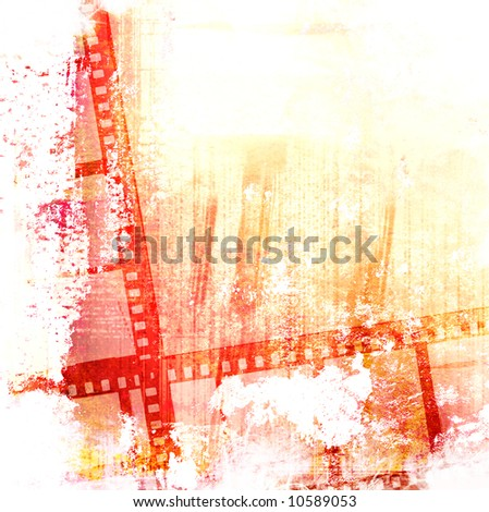 Great film frame for textures and backgrounds-with space for your text and image - stock photo