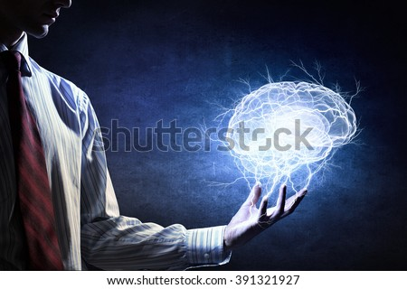 Great mind ability - stock photo