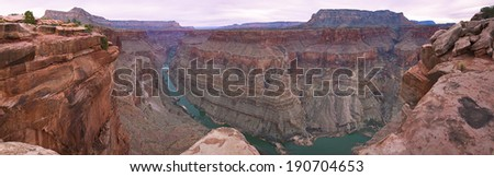 great view of Grand Canyon. USA, Arizona  - stock photo