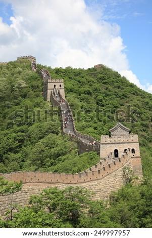 greatwall,china - stock photo
