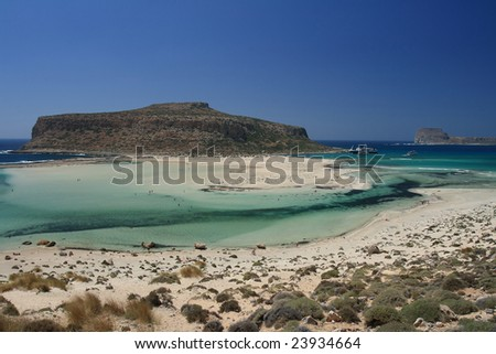 Greece - vacations time, wonderful time - stock photo