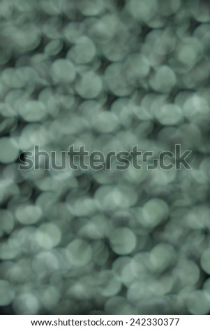 green abstract  background with bokeh effect - stock photo