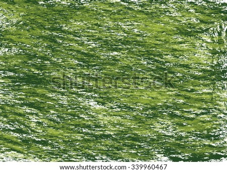 Green abstract lines, beautiful background - stock photo