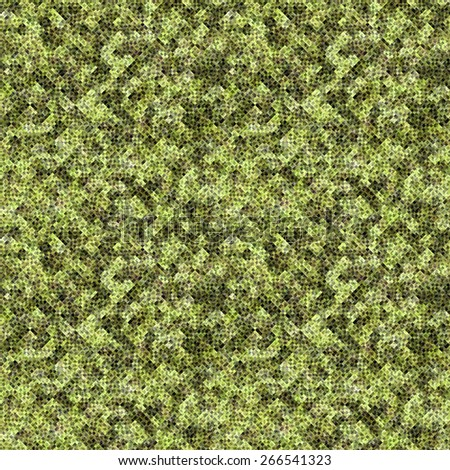 green Abstract painted geometric background with grunge texture  - stock photo