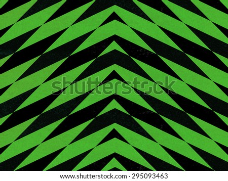 Green and black abstract arrows background - stock photo