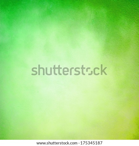 Green and yellow abstract grunge background - stock photo