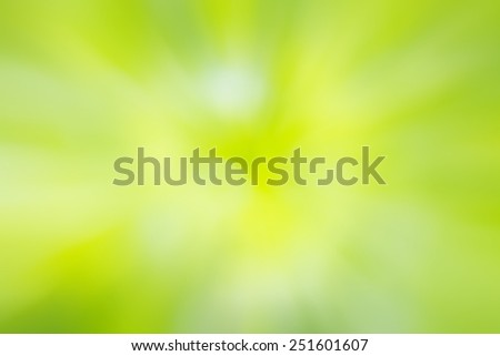 Green and yellow light spots can be used for background - stock photo