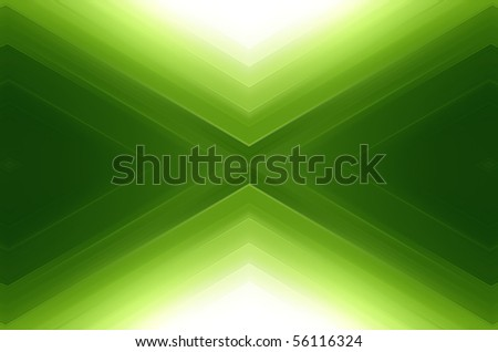 green background - stock photo