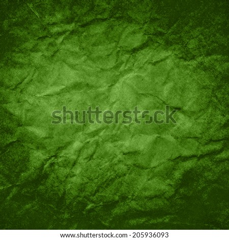 green background paper with dark green border design, grunge vintage green paint texture frame with faded center, green paper texture, elegant distressed wall paint  - stock photo