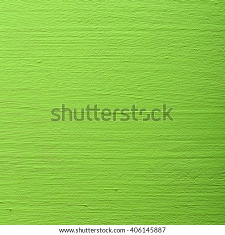 Green background wall texture. - stock photo