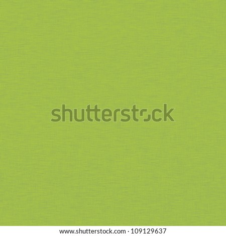 green background with subtle fabric texture - stock photo