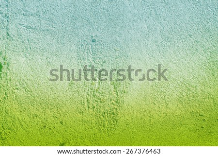 green blue abstract background with wall pattern - stock photo
