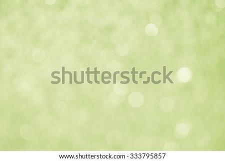 Green Bokeh Background / Green Bokeh Background  - stock photo