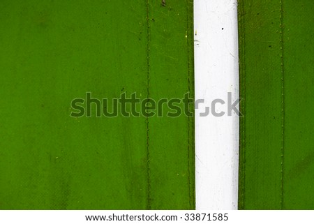 green canvass like material - stock photo