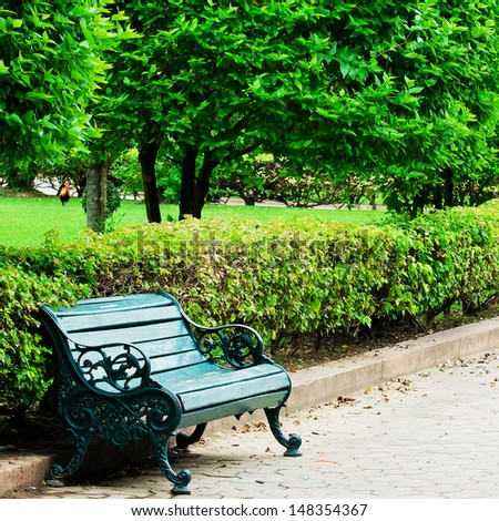 Garden With Chair Stock Photos Images amp Pictures