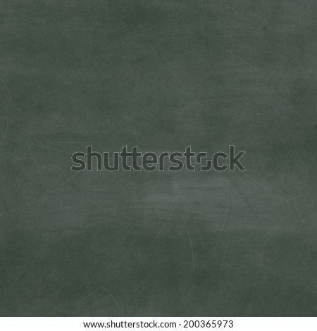 Green chalk board texture - stock photo