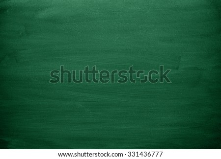 Green chalkboard. Green background - stock photo