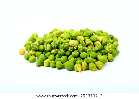 Green Chickpeas - stock photo