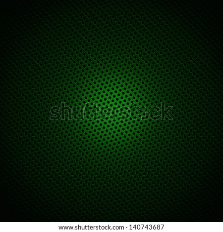 Green circle pattern texture or background - stock photo