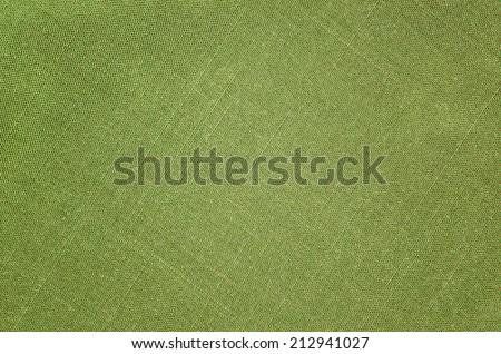 green cloth texture - stock photo