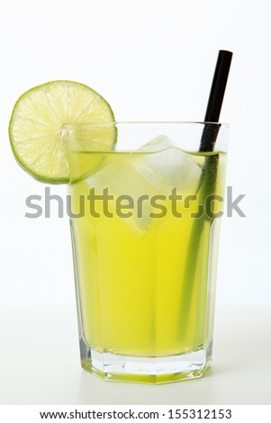 Green Cocktail - stock photo
