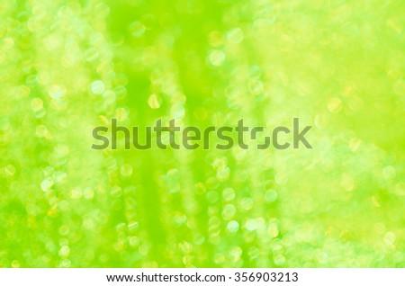 green color  lights defocused background - stock photo