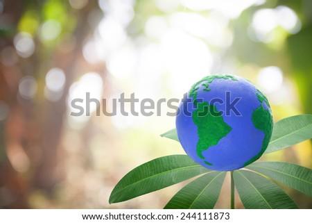 green environment concept - stock photo