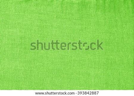 Green Fabric Texture./ Green Fabric Texture. - stock photo