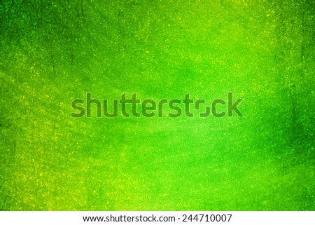 green gradient color with grunge concrete texture - stock photo
