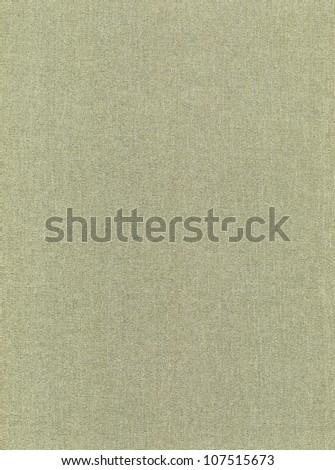 green grey cloth texture background, book cover - stock photo