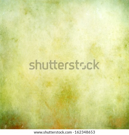Green grunge abstract texture for background - stock photo