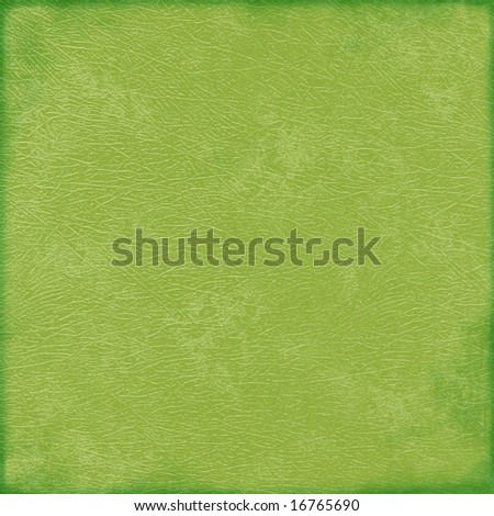Green grunge background paper - stock photo