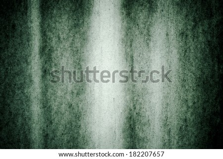 Green grunge background texture with grain. - stock photo