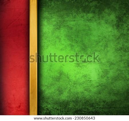 green grunge paper background - stock photo