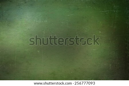 Green grunge paper texture, may use as background - stock photo